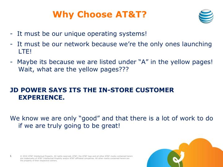 Why Choose AT&T?