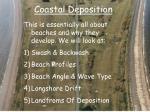 coastal deposition1