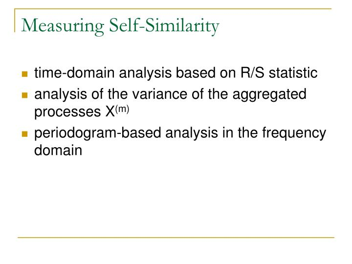 Measuring Self-Similarity