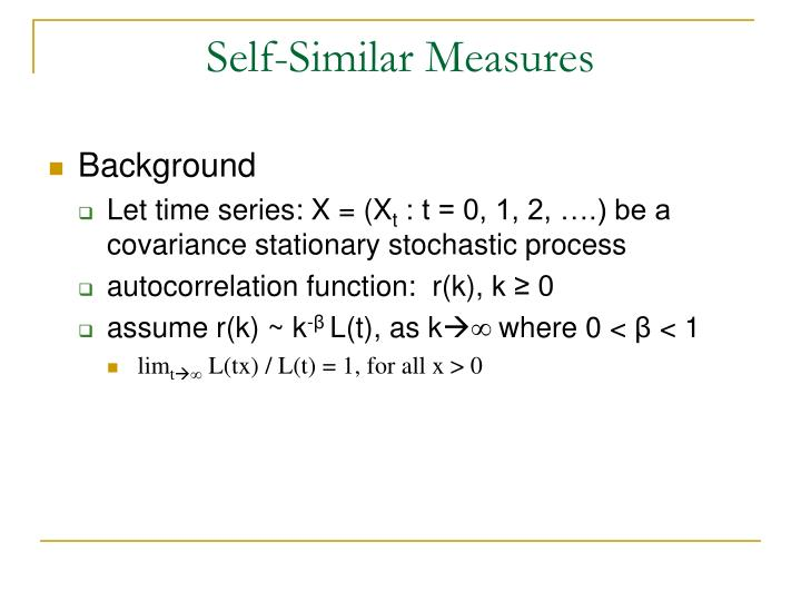 Self-Similar Measures