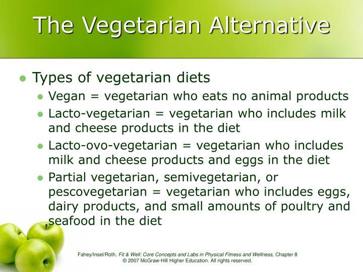 The Vegetarian Alternative