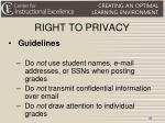 right to privacy1