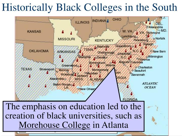 Historically Black Colleges in the South