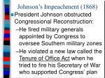 johnson s impeachment 1868