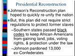 presidential reconstruction1