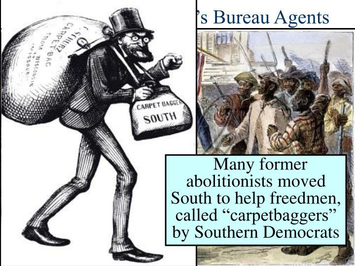 The Role of Freedman's Bureau Agents