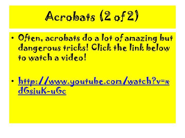 Acrobats (2 of 2)