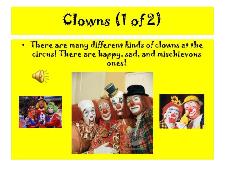 Clowns (1 of 2)
