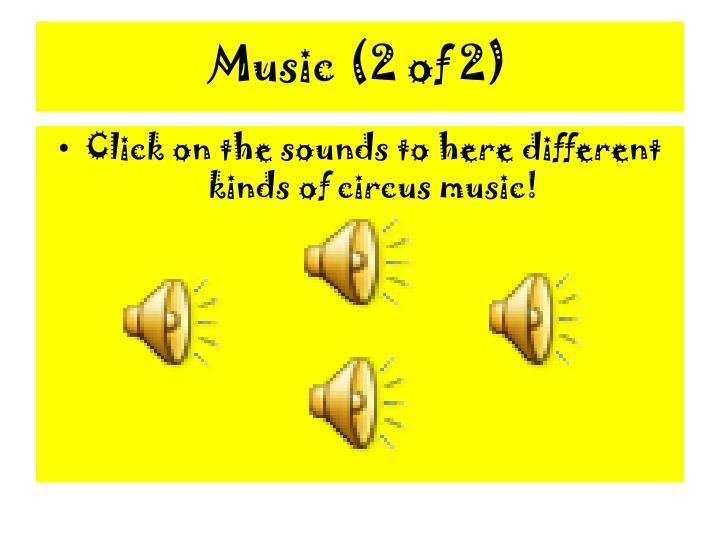 Music (2 of 2)