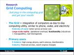 research grid computing