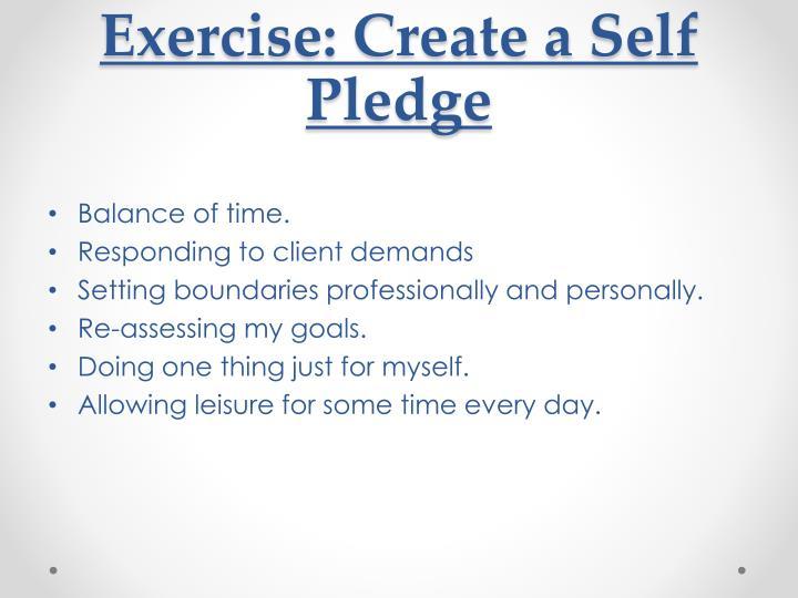 Exercise: Create a