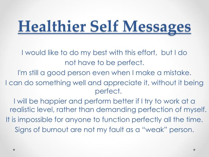 Healthier Self