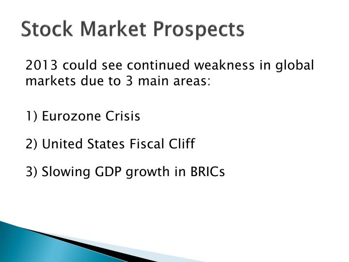 Stock Market Prospects