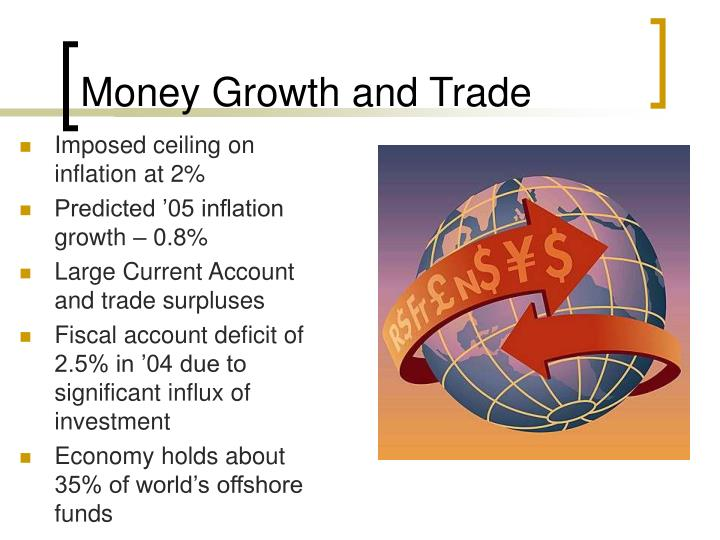 Money Growth and Trade