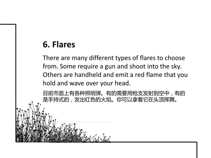 6. Flares