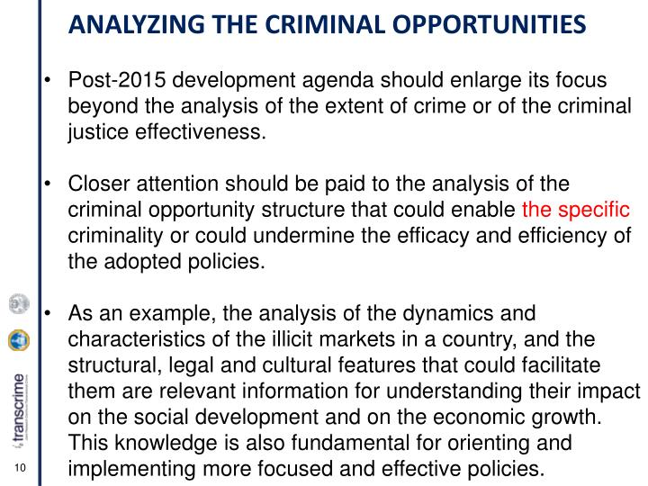 Post-2015 development agenda should enlarge its focus beyond the analysis