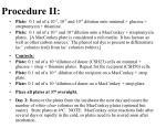 procedure ii
