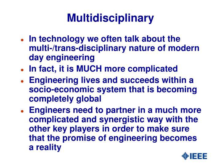 Multidisciplinary