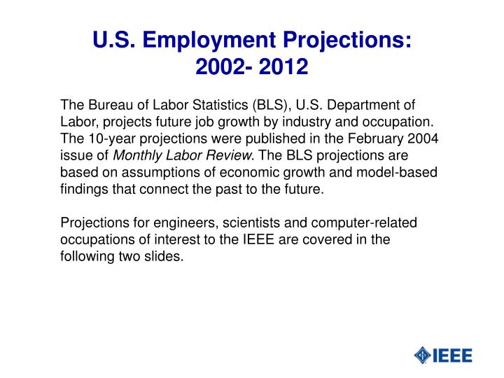 U.S. Employment Projections: