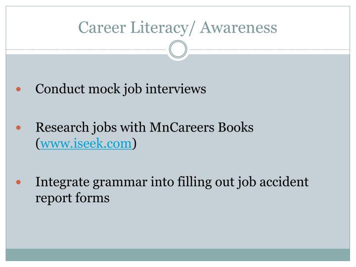 Career Literacy/ Awareness