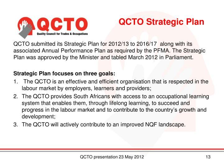 QCTO Strategic Plan