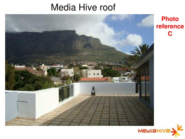 Media Hive roof