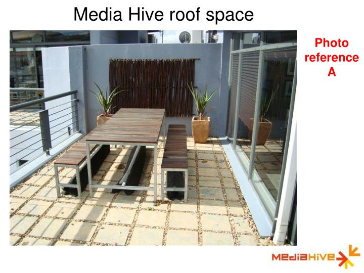 Media Hive roof space