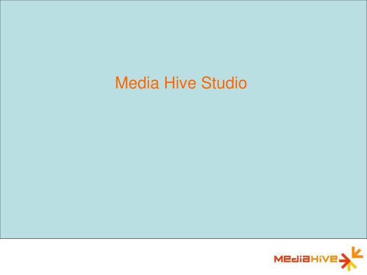 Media Hive Studio