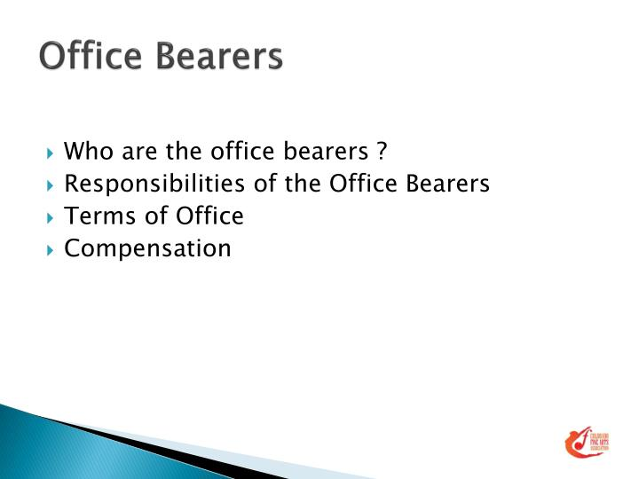 Office Bearers
