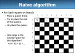 naive algorithm
