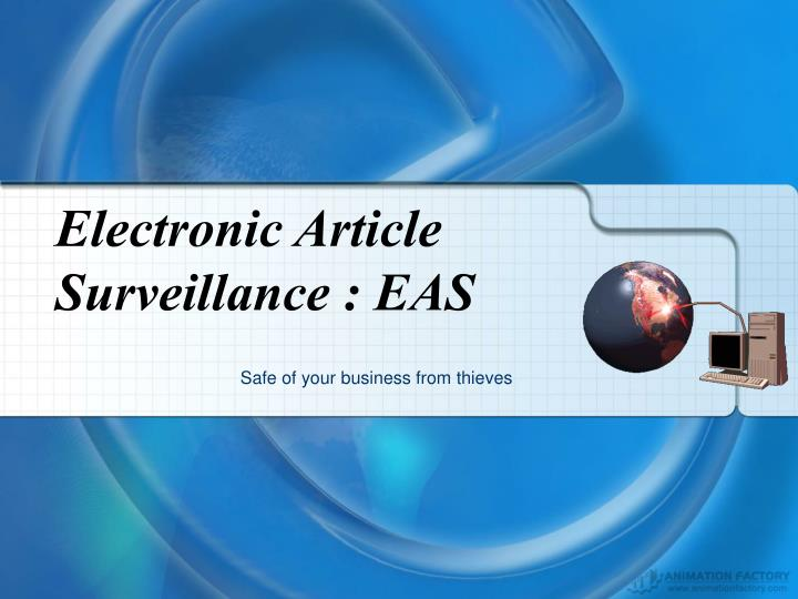 Electronic Article