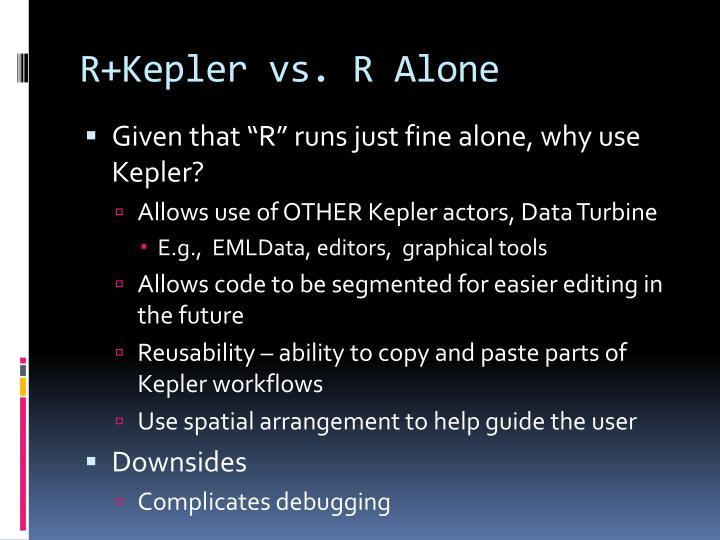R+Kepler