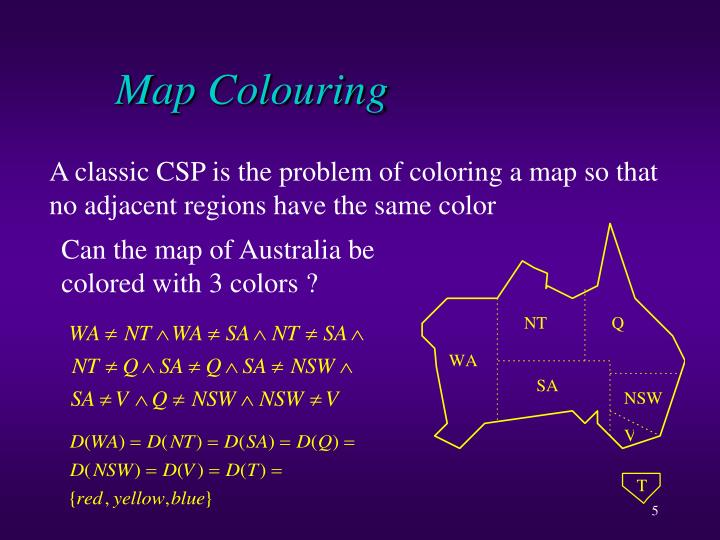Map Colouring