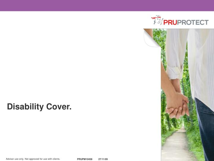 Disability Cover.