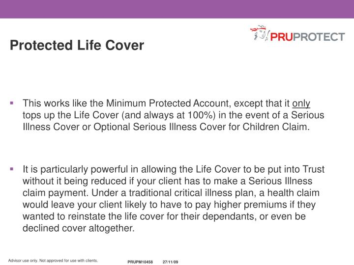 Protected Life Cover