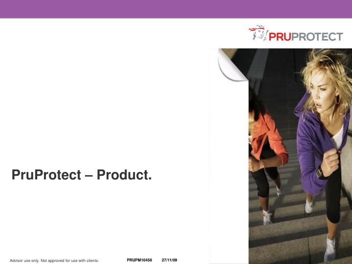 PruProtect – Product.