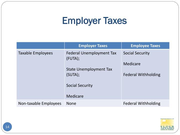 Employer Taxes