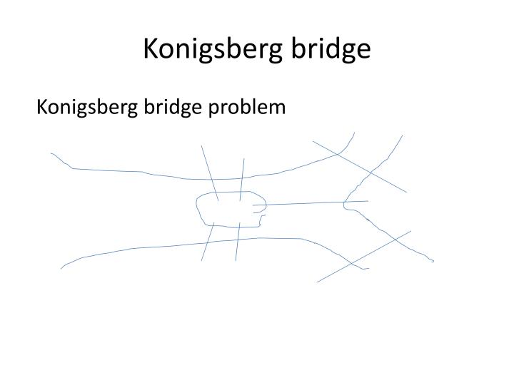 Konigsberg bridge