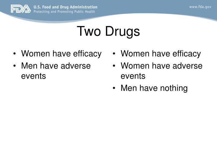 Women have efficacy