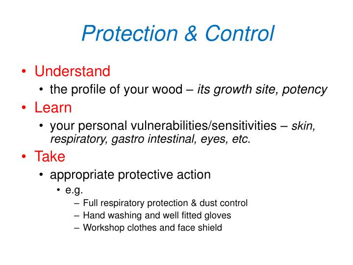 Protection & Control