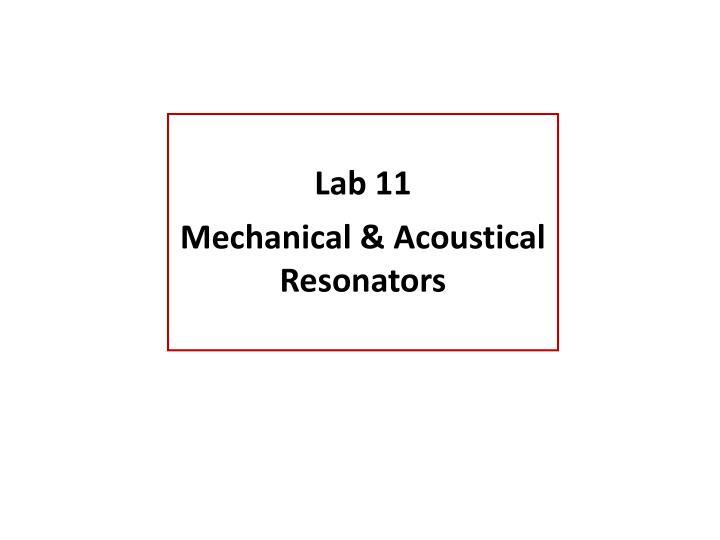 Lab 11