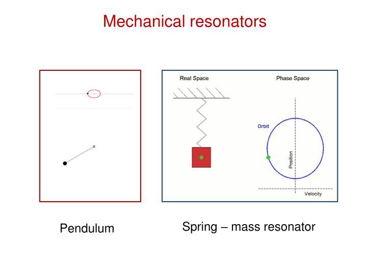 Mechanical resonators