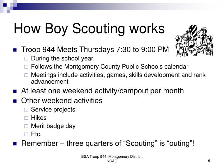 How Boy Scouting works