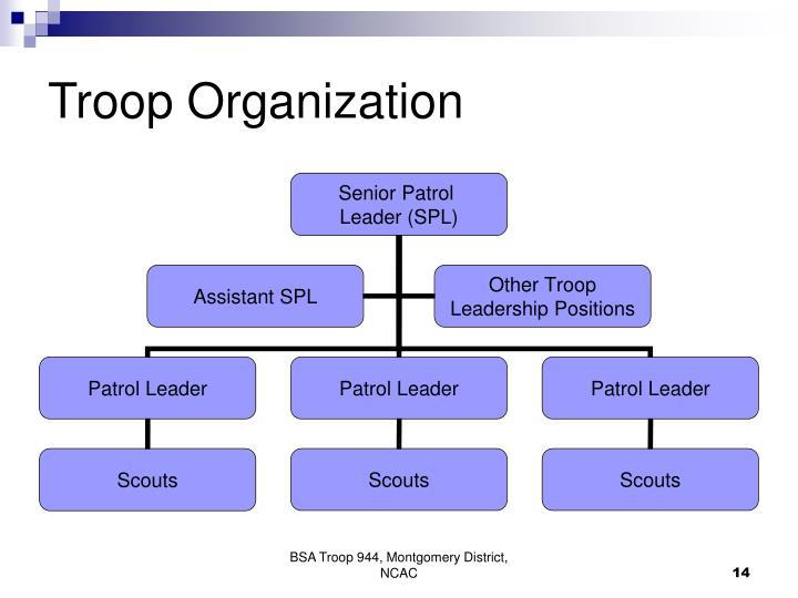 Troop Organization