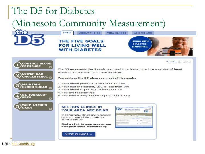 The D5 for Diabetes