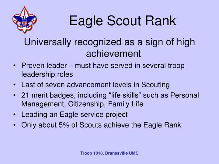 Eagle Scout Rank