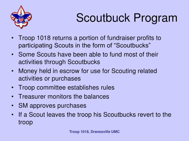 Scoutbuck Program