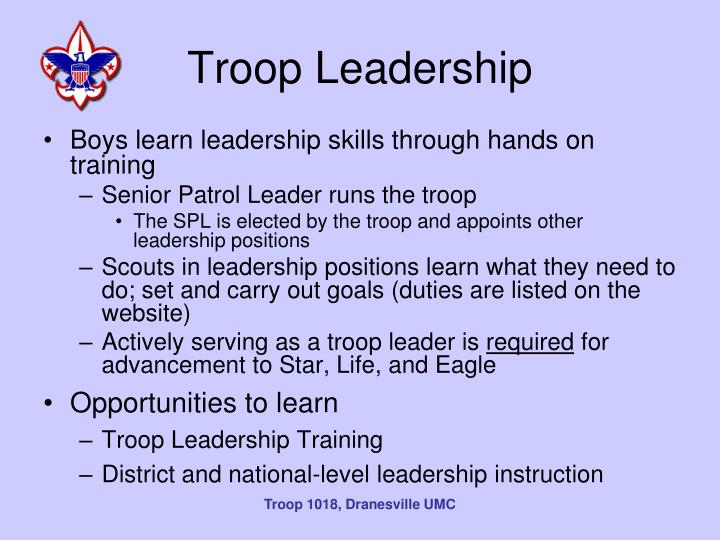 Troop Leadership