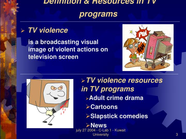 an analysis of the effects of television violence on children The effects of this violence can be long-lasting, if not never-endingfor some, television at its worst, is an assault on a child's mind, an insidious influence tat upsets moral balance and makes a child prone to aggressive behavior as it warps his or her perception of the real world.