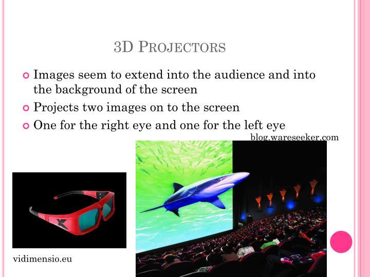 3D Projectors